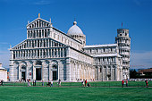 Building near Leaning Tower of Pisa