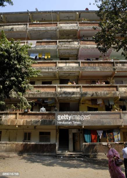 Building No 13 of Mahim Police Colony where Vijay Murudkar Assistant Sub Inspector Bandra police Station resides and jumped down the terrace...