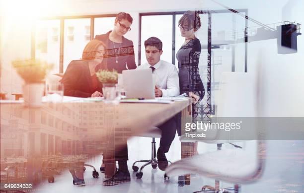 S'appuyant sur un travail d'équipe