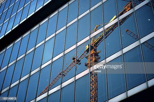 Gebäude auf Construction