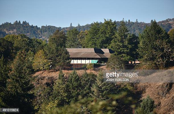 A building on the Umpqua Community College campus is seen atop a hill in Roseburg Oregon on October 2 2015 As police and mourners groped for answers...