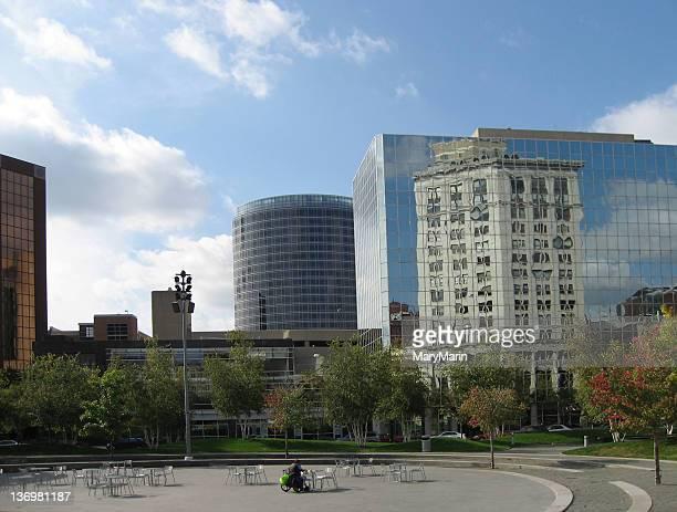 Building Reflected, Grand Rapids, Michigan