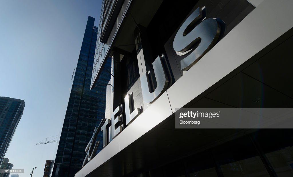 TELUS building shown in Toronto, Ontario, Wednesday February 13, 2013. Photographer: Aaron Harris