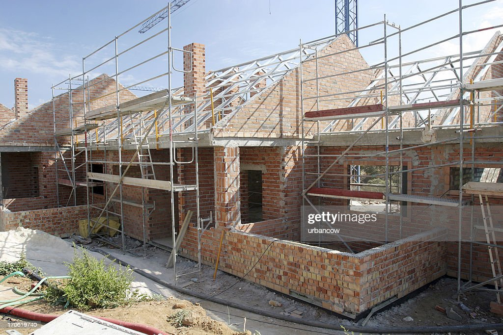 Gebäude-Website : Stock-Foto
