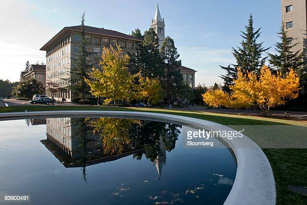 A building stands on the University of California Berkeley campus in Berkeley California US on Tuesday Dec 1 2009 Berkeley the topranked public US...
