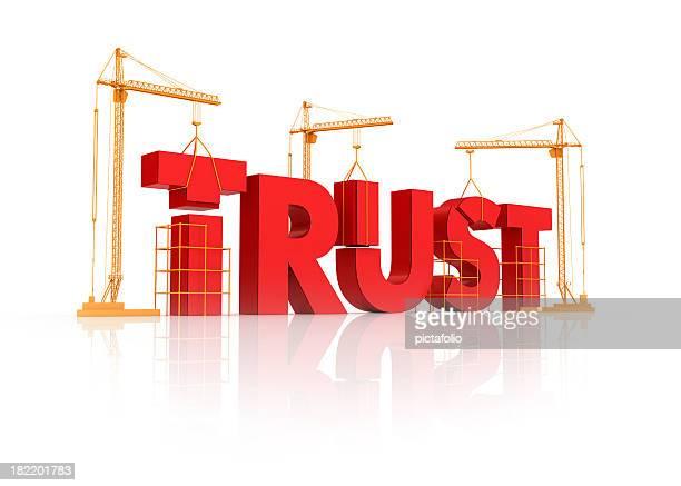 Gebäude Vertrauen Verhältnis