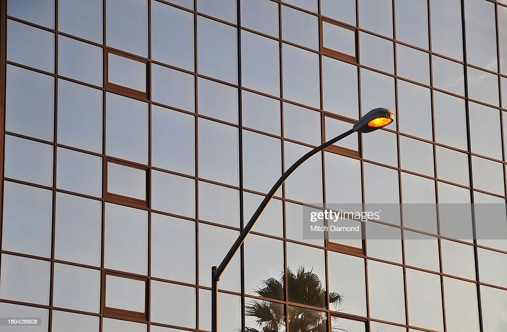 Building with street light : Stock Photo