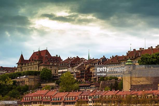 Buildings along Aare River at Bern