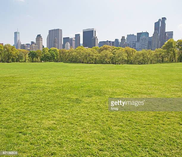 Buildings around Sheep?s Meadow, New York, United States