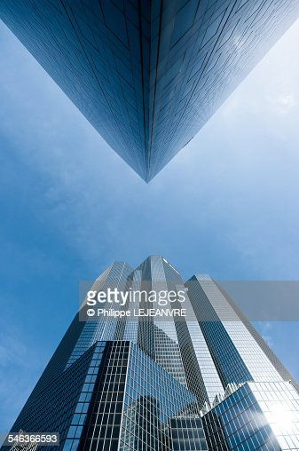 Buildings face to face
