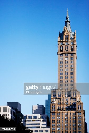 Buildings in a city, Fifth Avenue, Manhattan, New York City, New York State, USA : Foto de stock