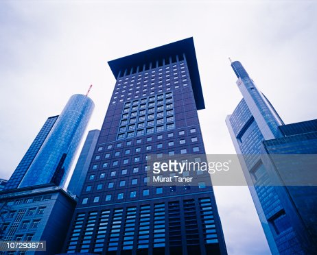 Buildings in a city : Stock Photo