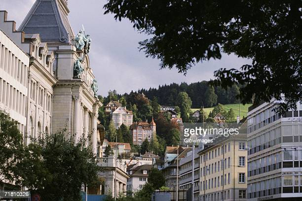 Buildings in a city, St. Gallen Canton, Switzerland
