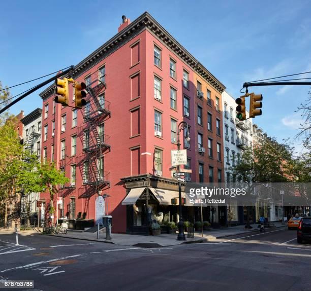 Buildings in Bleecker Street, Greenwich Village