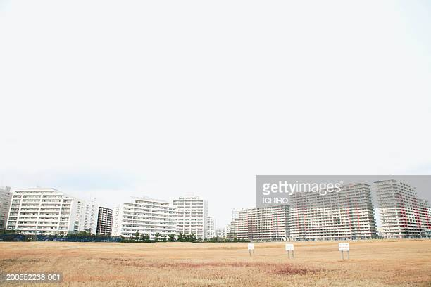 Buildings in Shrinjuku Ward, low angle view