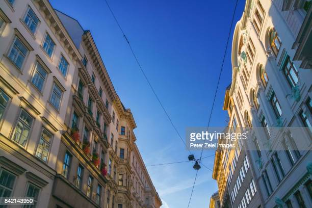 Buildings in the downtown of Vienna, Austria