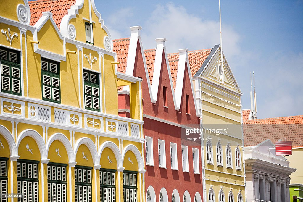 Buildings in Willemstad, Curacao, Antilles
