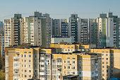 Buildings of Chisinau, Moldova