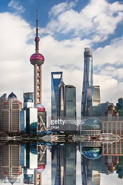 buildings of Shanghai