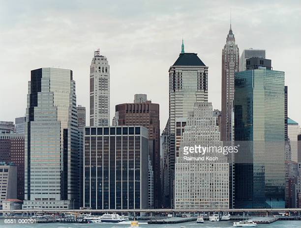 Buildings on East River