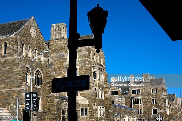Buildings on the campus of Yale University are shown April 15 2008 in New Haven Connecticut New Haven boasts many cultural offerings that attract...