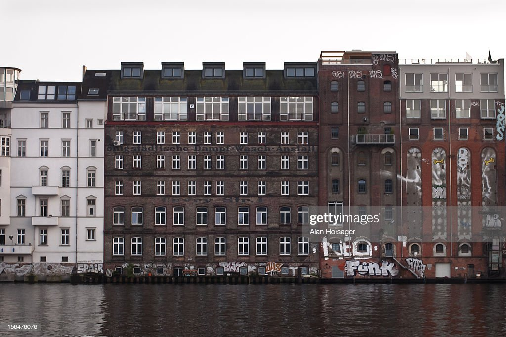 Buildings on the edge of the River Spree, Berlin