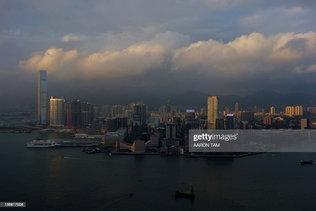Buildings on the Kowloon peninsula of Hong Kong are seen in the afternoon sun on November 22, 2012. Hong Kong's economy returned to modest growth in the third quarter, helped by improving exports and rising domestic consumption, meaning that the southern Chinese city avoided a technical recession, typically defined by GDP contractions in two consecutive quarters.