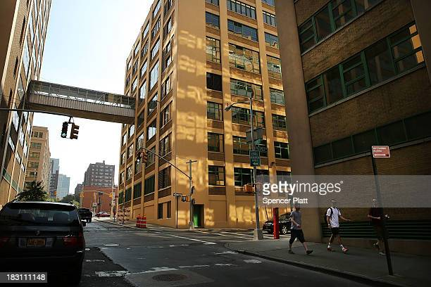 Buildings owned by the Jehovah's Witnesses that have recently been sold and are part of a complex that will be converted into a center for technology...