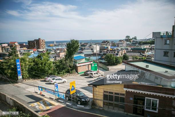 Buildings stand in Ulju Ulsan province South Korea on Thursday Aug 31 2017 South Korea has the worlds sixthlargest nuclear energy program with 24...