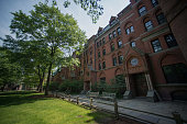 Buildings stand on the Yale University campus in New Haven Connecticut US on Friday June 12 2015 Yale University is an educational institute that...