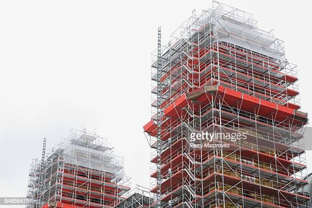 Buildings under construction, Munich, Bavaria, Germany
