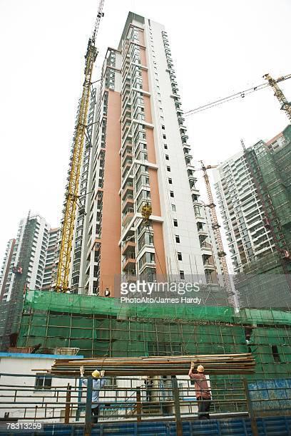 Buildings under renovation