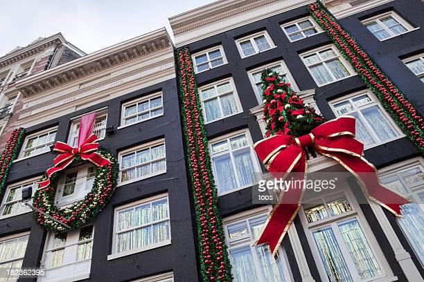 Bâtiments avec décoration de Noël (XXL