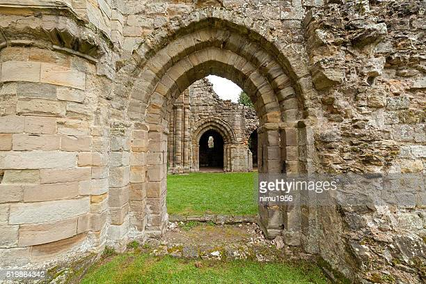 Buildwas abbey ruins.