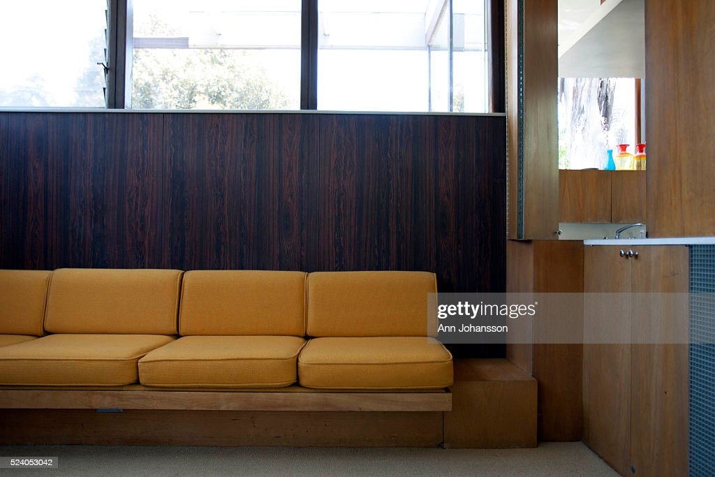 Built In Couch vdl housearchitect richard neutra pictures | getty images
