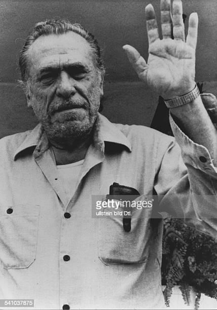 Bukowski Charles *Schriftsteller USA Portrait undatiert