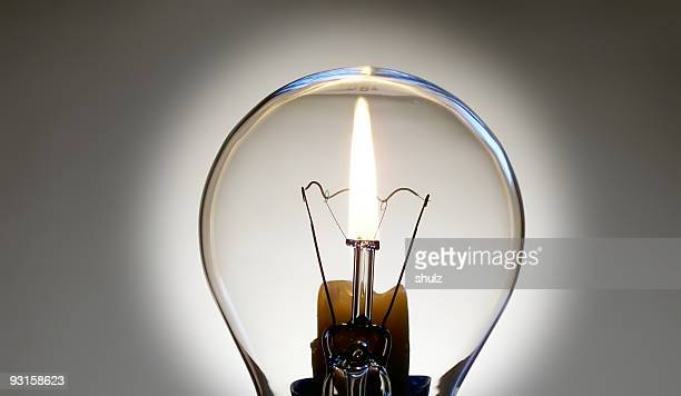Bulb and Flame of a candle
