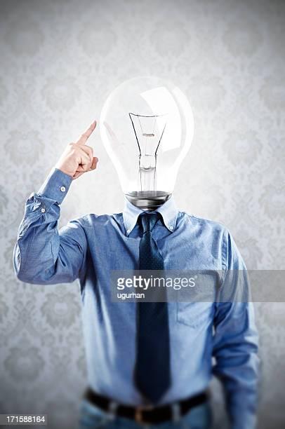 Glühbirne Kopf