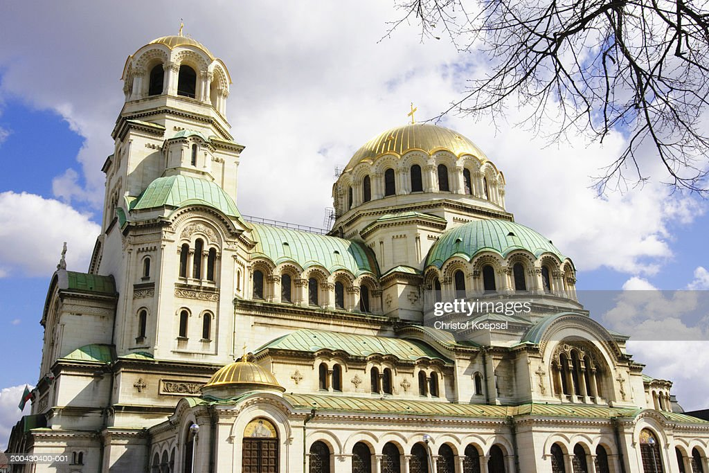Bulgaria, Sofia, St. Alexander Nevsky Cathedral : Stock Photo