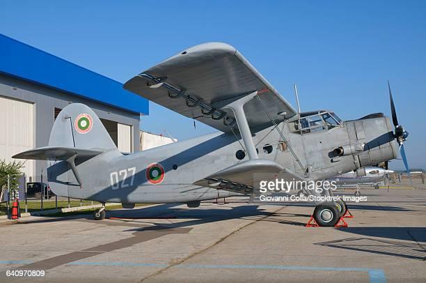 A Bulgarian Air Force An-2 biplane.