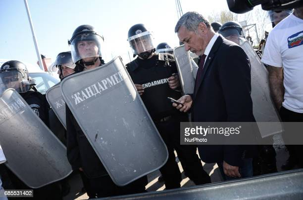 Bulgarian new deputy prime minister Valeri Simeonov scandal with NeoNazis over 'Heil Hitler' greeting Nazi salutes of ExMinister of Regional...