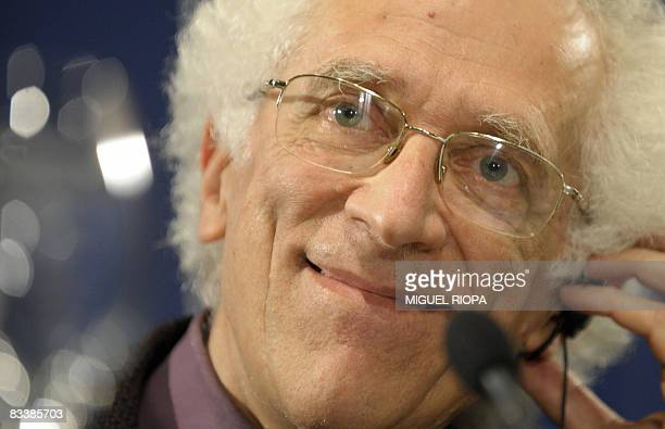 Bulgarianborn French philosopher Tzvetan Todorov takes part in a press conference in Oviedo on October 22 2008 Todorov has been awarded the 2008...