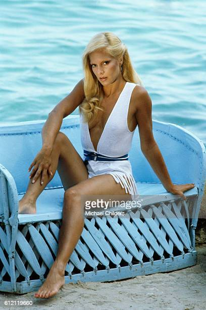 Bulgarianborn French singer Sylvie Vartan in Mexico
