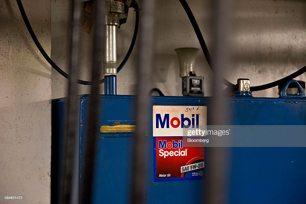 An Exxon Mobile Corp Gas Station Ahead Of Earnings