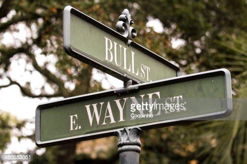 Bull and Wayne Corner : Foto de stock