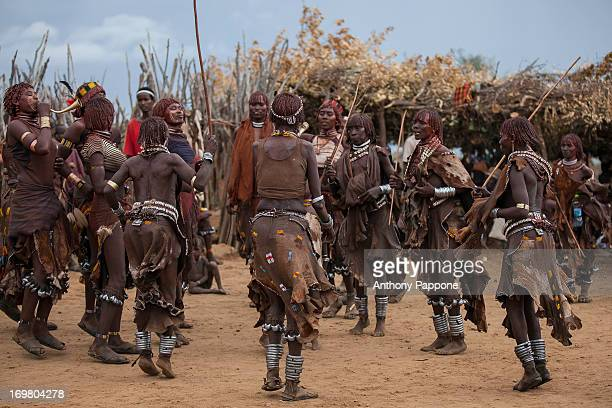 CONTENT] Bull jumping ceremony is a rite of passage ceremony for men coming of age must be done before a boy is permitted to marry The boy must jump...
