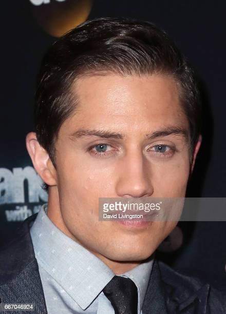 Bull rider Bonner Bolton attends 'Dancing with the Stars' Season 24 at CBS Televison City on April 10 2017 in Los Angeles California