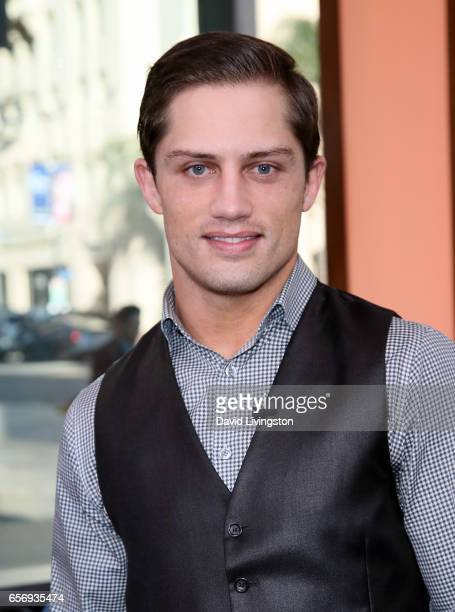 Bull rider Bonner Bolton visits Hollywood Today Live at W Hollywood on March 23 2017 in Hollywood California