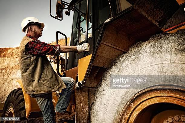bulldozer operatore