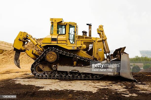 A bulldozer